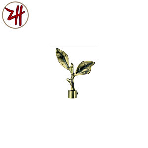 Factory Direct Sale Curtain Rod Decorate Iron Cap (ZH-8124)