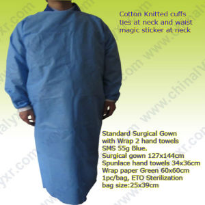 Ly Standard Surgical Gown with Towels (LY-SSGDP-001) pictures & photos