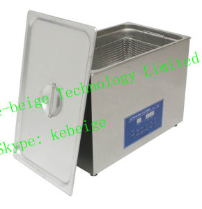 Ultrasonic Jewelry Cleaner with 30L 600W Double Frequency 28kHz 40kHz pictures & photos