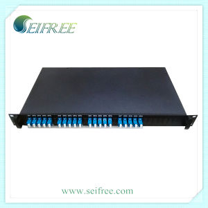 Professional Supply Fiber Optic 1X4 PLC Splitter with Lu Connector pictures & photos