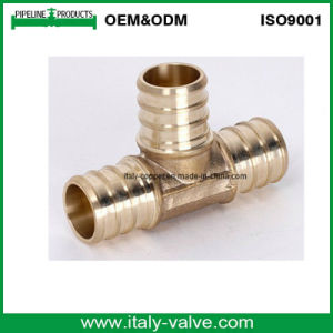 Brass Equal Tee for Pex Pipe (PEX-002) pictures & photos