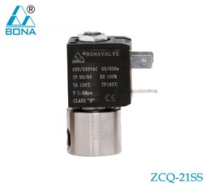 Bona Nc Stainless Steel Solenoid Valve (ZCQ-21SS) pictures & photos