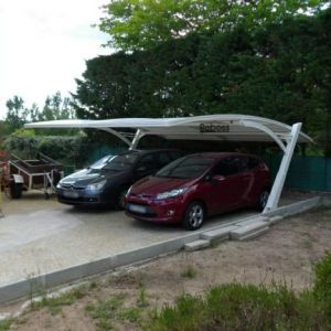 High Quality Aluminum and Polycarbonate Carport (CPD ITEMS) pictures & photos