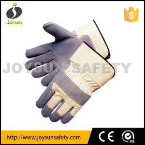 Leather Working Glove Industrial Safety Rigger Gloves (CB300)