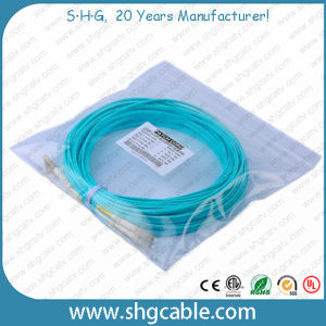 Sc-FC Sm Duplex Armored Fiber Optic Patch Cord pictures & photos