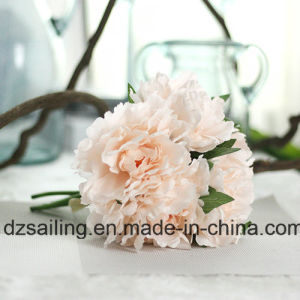 5 Heads Sweet Peony Bouquet Artificial Flower for Decoration (SF13823/5)