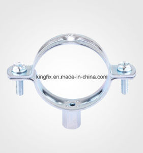 Pipe Clamp Without Rubber&with M8+10 Nut