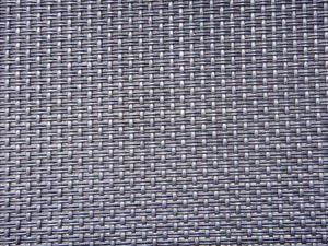 Black 2*1 Weave Vinyl Coated Polyester Mesh, Outdoor Furniture Fabric  Textilene Mesh