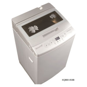 8.0kg Fully Auto Washing Machine (PCM/glass lid) Model XQB80-858B pictures & photos