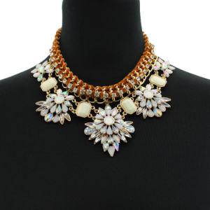 Fashion Elegant Vintage Flower Statement European Styles Necklace pictures & photos