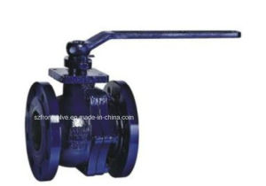 DIN Cast Iron Ball Valve with Mounting Pad pictures & photos