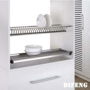 Stainless Steel Draining Rack Kitchen Storage Dish Rack
