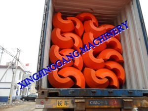 Dredging Floater/ Pipe Floaters/ MDPE Floater pictures & photos