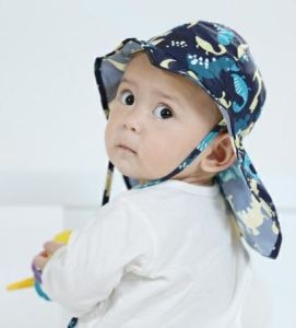 c9907b2f7 Wholesale Lovely Printed Upf 30 Beach UV Protection Toddler Baby Flap Sun  Hat