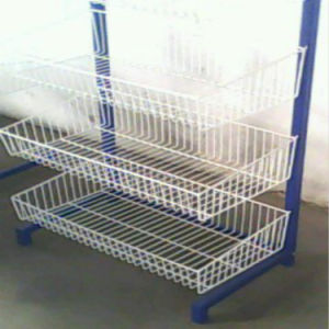 Wire Metal Rack Stand Floor Display
