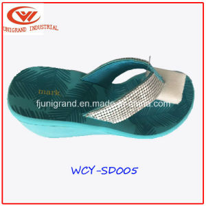 Fashion Women Slipper Wedge Sandals Shoes for Ladies pictures & photos