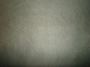 Vintage PU Colour Coating Fabric for Garments Use pictures & photos