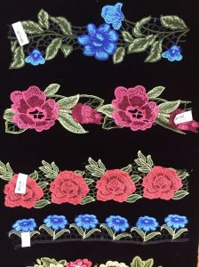 Flower Embroidery Lace Mesh Lace for Garments pictures & photos