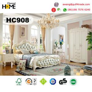 Hot-Sell Antique Furniture Wood Bedroom Set for Home (HC908)