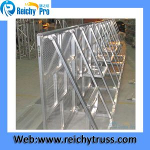 Outdoor Aluminum Stage Crowd Barriers/Crowd Standing Barrier in Stock pictures & photos