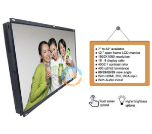 "42"" Open Frame LCD HDMI Monitor with 16: 9 Resolution 1920*1080 (MW-421ME) pictures & photos"