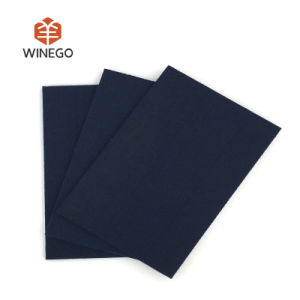 Dark Blue Polyester Fiber Acoustic Panel pictures & photos