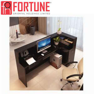 office reception table. Modern Office Reception Desk Design With Cabinet For Hotel (FOH-LRD1) Table