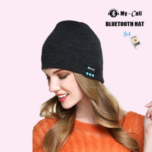 8f7cc695bb7 China Bluetooth 4.2 Wireless Smart Beanie Headset Musical Knit ...