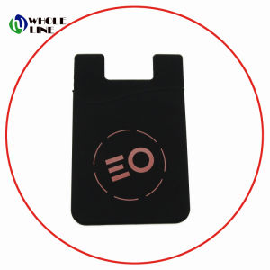 huge discount c7370 c56da Wholesale Silicone Smart Cell Phone Credit Card Holder/Customized Wallets
