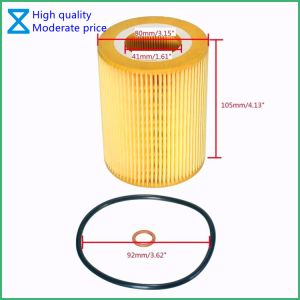 China High Quality OEM/ODM Factory Providing Oil Filter for BMW Mann Hu  925/4 X Engine