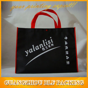 Black Tote Shopping Bag Offset Printing pictures & photos