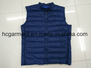 Stock Clothing, Women Down Vest, Cheaper Price Winter Clothes