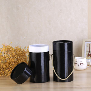 Wine Bottle Cardboard Tube Wine Wrapping Paper Box Manufacturer pictures & photos