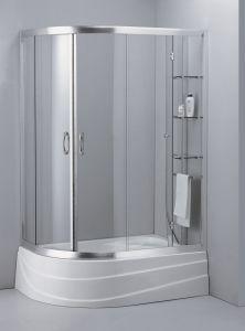 Tempered Glass Door Screen Simple Shower Room Shower Cabin Bathroom  Accessories