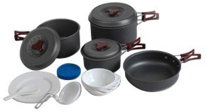 Outdoor Camping Cookware Set (CL2C-DT1915-7) pictures & photos