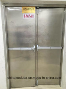 Stainless Steel Fire Door (CHAM-SSFD001) pictures & photos
