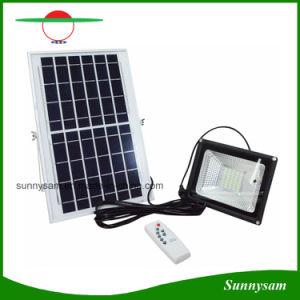 10w 20w 30w 50w Solar Ed Led Flood Light Remote Control Outdoor Security
