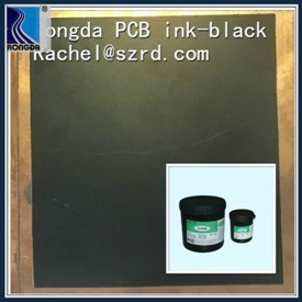 High Quality Matte Black PCB Ink From Rongda