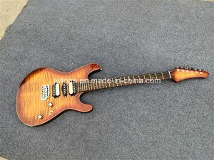 Body Top Binding Flmaed Maple Top Electric Guitar