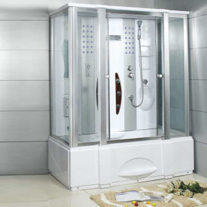 SPA Jets Glass Jacuzzi Steam Shower Enclosure