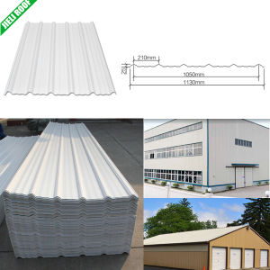 Waterproof PVC Corrugated Sheet for Industrial pictures & photos