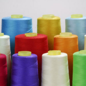 High Tenacity 100% Spun Polyester Sewing Thread pictures & photos