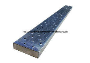 Scaffolding Plank Metal Ladder with Hook or Without pictures & photos