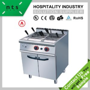Gas Pasta Cooker with Cabinet for Hotel & Restaurant & Catering Kitchen Equipment pictures & photos