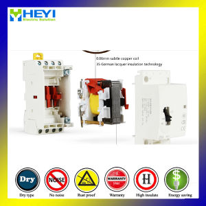 Household Contactor Air Conditioning Magnetic Contactor Auto2p 16A 24V 1no 1nc pictures & photos