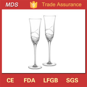 New Fashion Wedding Party Crystal Glass Champagne Table Ware pictures & photos