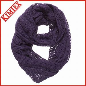 Unisex Ladies Fashion Acrylic Knitted Infinity Endless Tube Scarf pictures & photos