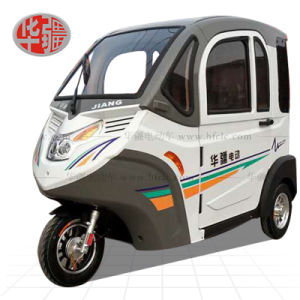 Totally Enclosed Three Wheel Electric Car pictures & photos