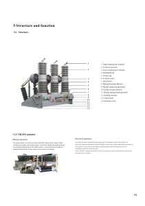 40.5 Outdoor Hv Vacuum Circuit Breaker for Transformer Substation with Disconnector pictures & photos