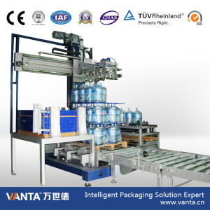 Automatic Bottle Palletizer for 5 Gallon Bottles Packing Line